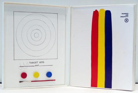 Jasper johns / target 1970
