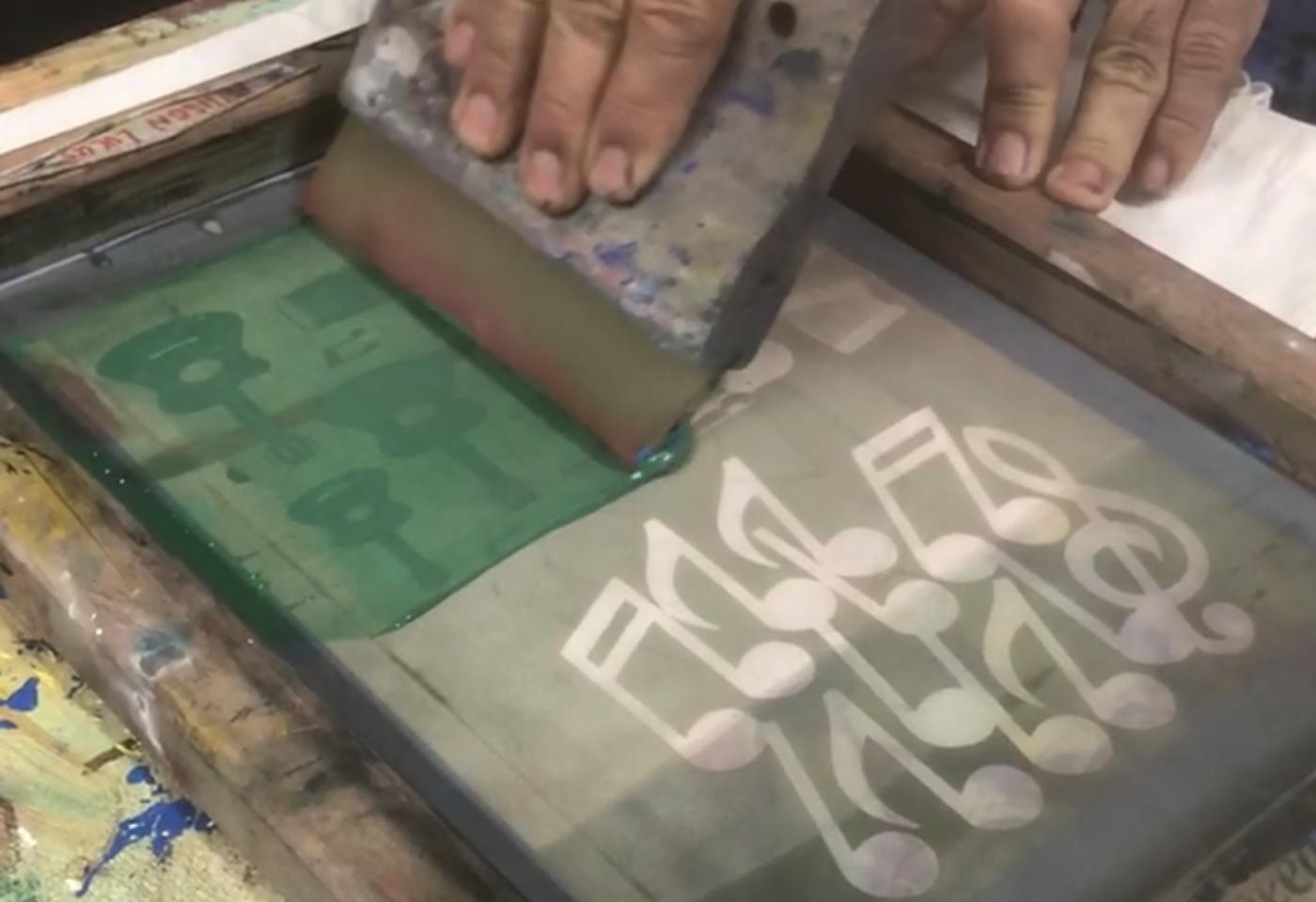 Moca makers: printmaking