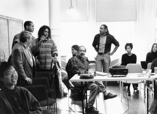 Conversations at moca: michael richards & the whitney independent study program with renee cox, lyle ashton harris, and dread scott