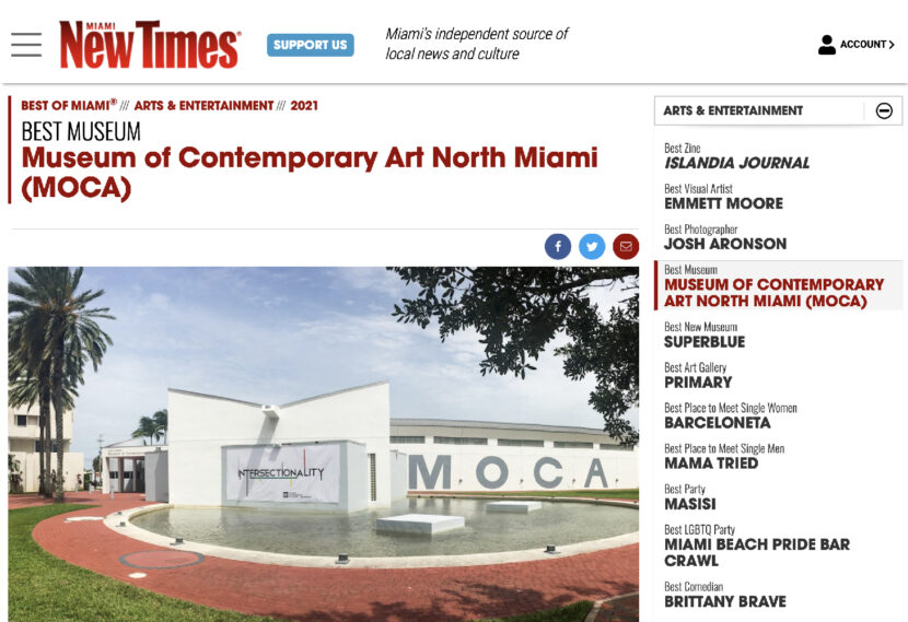 Best museum in miami by miami new times